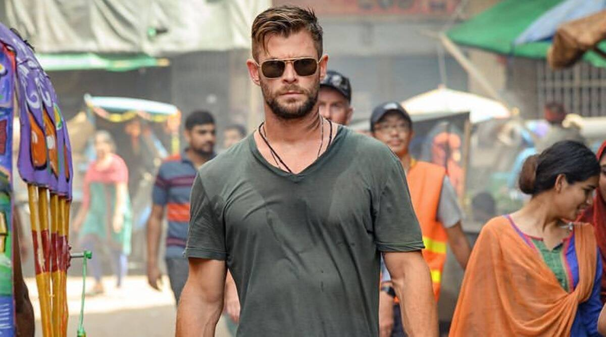 Extraction First Look Chris Hemsworth Is Mission Ready Entertainment News The Indian Express