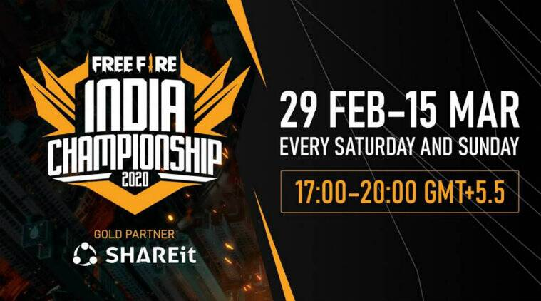 Garena Free Fire India Championship 2020 league stages schedule and details revealed