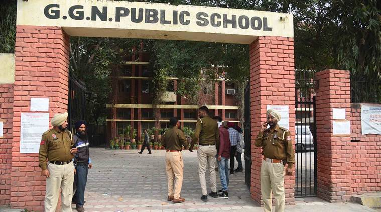 Ludhiana school, student attacked, cbse exam centre, student attacks teacher, Punjab Police, ludhiana news, indian express