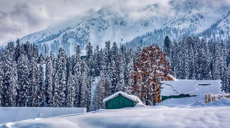 Gulmarg, Valentine's Day, Express Wanderlust, Indian Express news