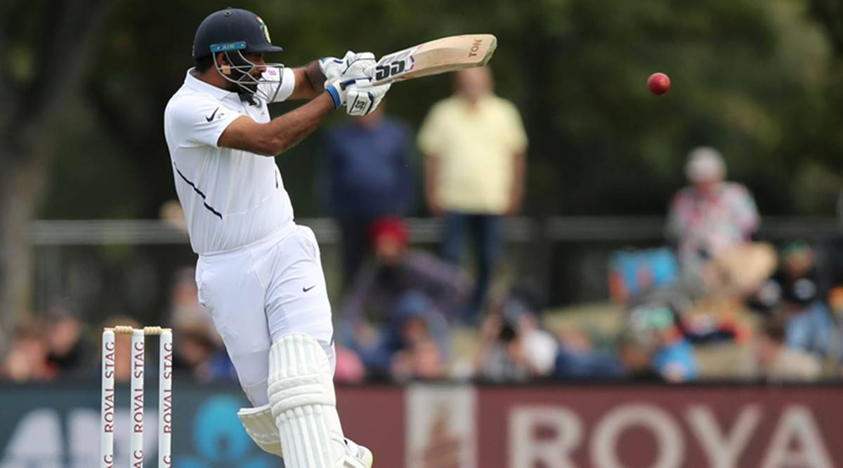 Hanuma Vihari, Hanuma Vihari 55, India vs New Zealand 2nd Test, IND vs NZ 2nd Test, Christchurch test, India tour of New Zealand 2020