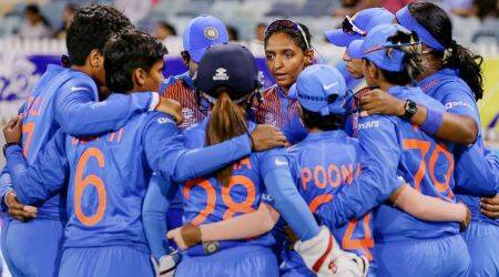 India Women vs South Africa.