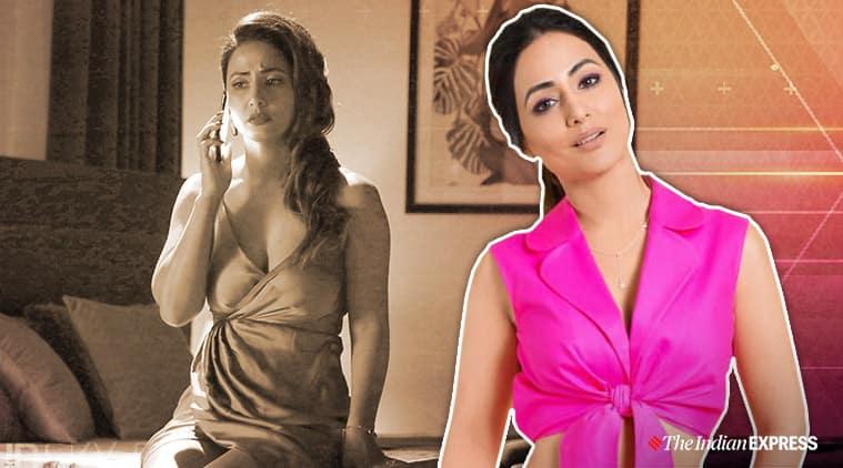 hacked film hina khan stills