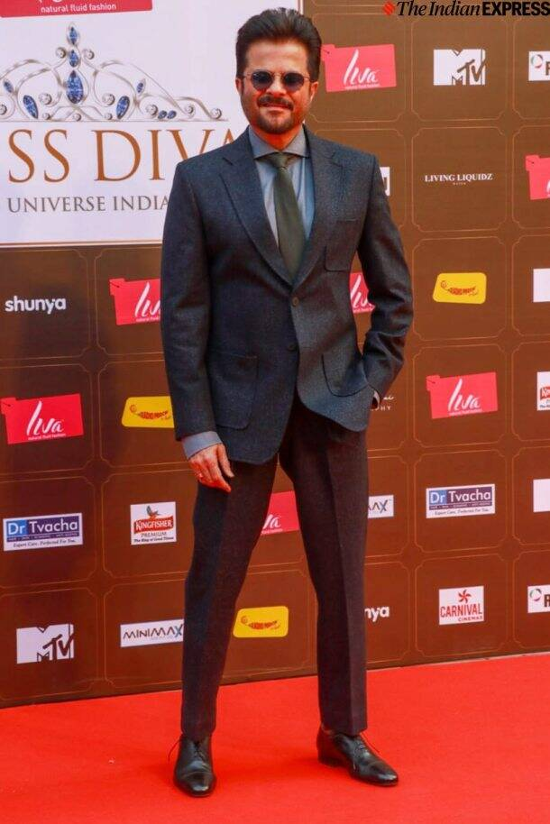 anil kapoor at miss diva finale 2020