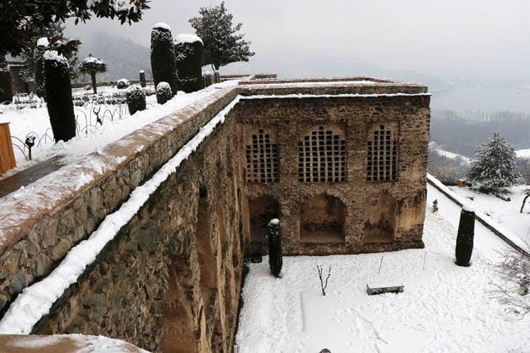Kashmir's Pari Mahal, prince Dara Shikoh kashmir, Zabarwan mountain range in Srinagar, the story of kashmir's pari mahal,
