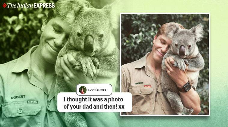 Steve Irwin's Son Recreates His Iconic Koala Pi
