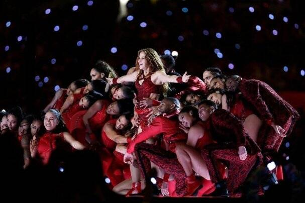 shakira at super bowl