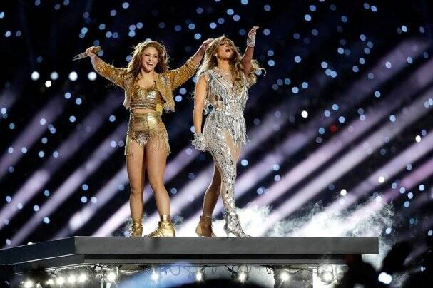 Jennifer Lopez and Shakira Super Bowl HALFTIME show