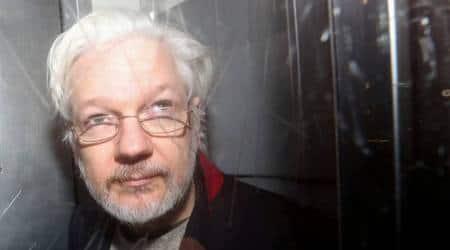 Julian Assange, Julian Assange WikiLeaks founder, WikiLeaks founder Julian Assange, Julian Assange computer hacking case, Julian Assange espionage case, World news, Indian Express