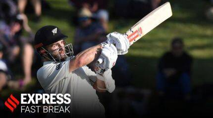 Kane Williamson masterclass: Play late to avoid getting out early