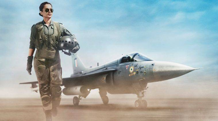 Tejas first look kangana ranaut air force pilot
