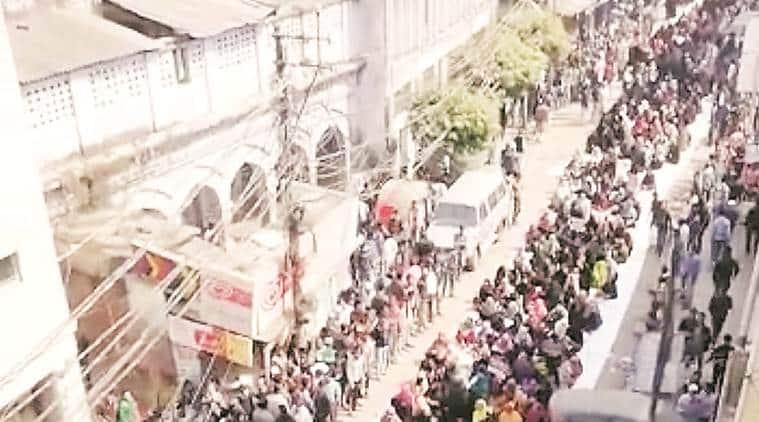 police violence at Kanpur park, CAA protest, Citizenship amendment act, Kanpur news, uttar pradesh news, indian express news