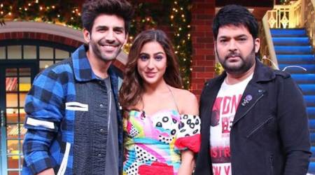 the kapil sharma show with kartik aaryan and sara ali khan