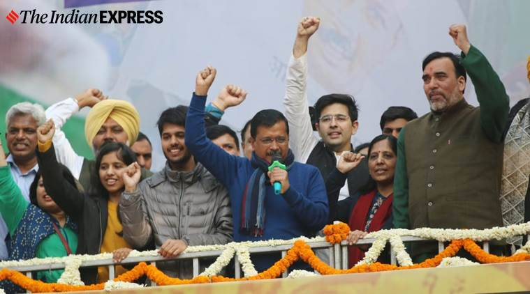 'O Delhi people, you've amazed us all, I love you!' — Kejriwal thanks voters