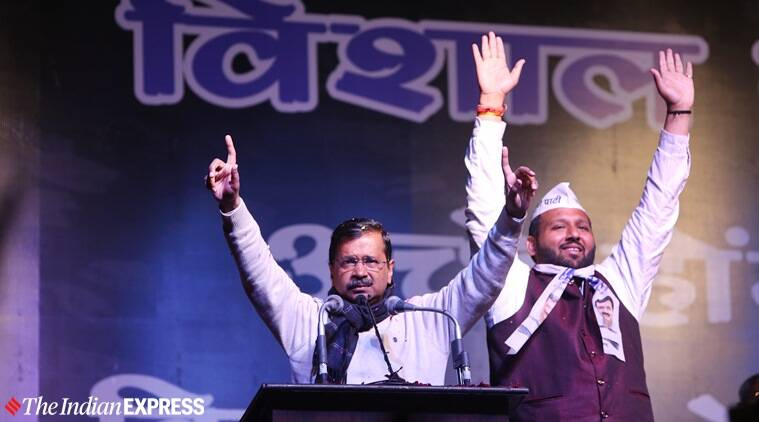 Delhi elections, Delhi election rallies today, Kapil Mishra on AAP, Prime Minister Narendra Modi, Amit Shah rallies, Arvind Kejriwal, BJP, Congress, AAP, Delhi news, Indian express