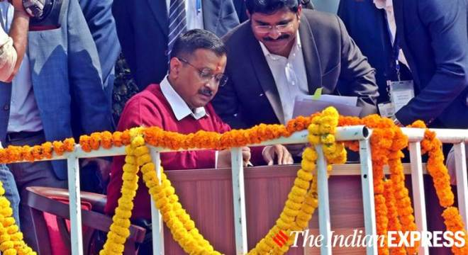 AAP ki dilli: Arvind Kejriwal sworn in as CM again