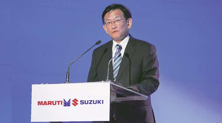 maruti suzuki, maruti suzuki car sales, maruti suzuki sales slowdown, Kenichi Ayukawa