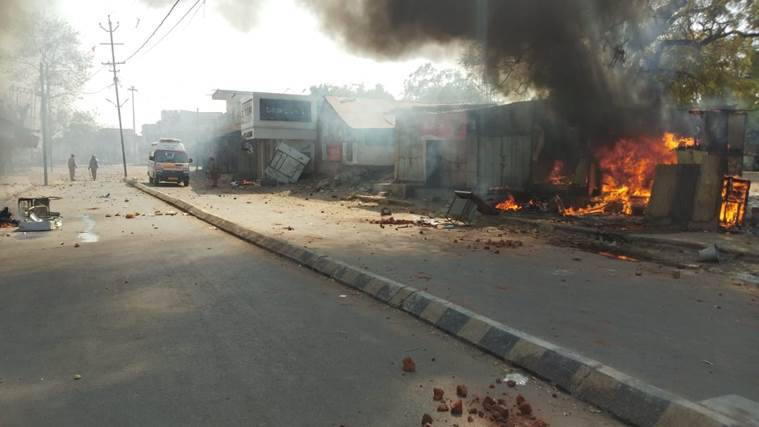 Gujarat: 13 injured in communal clash at Khambhat, houses, shops set on fire