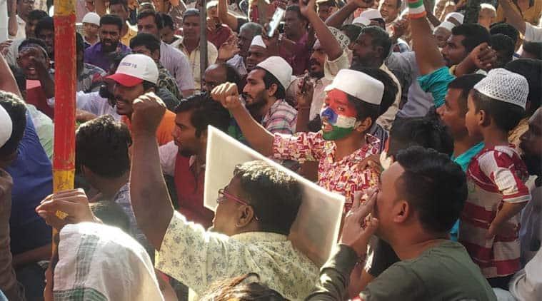 CAA protest, Shaheen Bagh protest, NRC, NPR, Washermanpet, Chennai Protest, anti-CAA protest, DMK, MK Stalin, Edappadi K Palanisamy, AIADMK, Muslim communities, Minority communities, Indian Express News, Chennai News