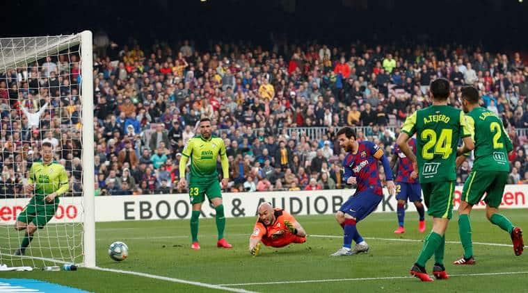 Lionel Messi, Lionel Messi four goals, Lionel Messi double hattrick, Barcelona vs Eibar 2020, Lionel Messi vs Eibar, La Liga 2020, football news