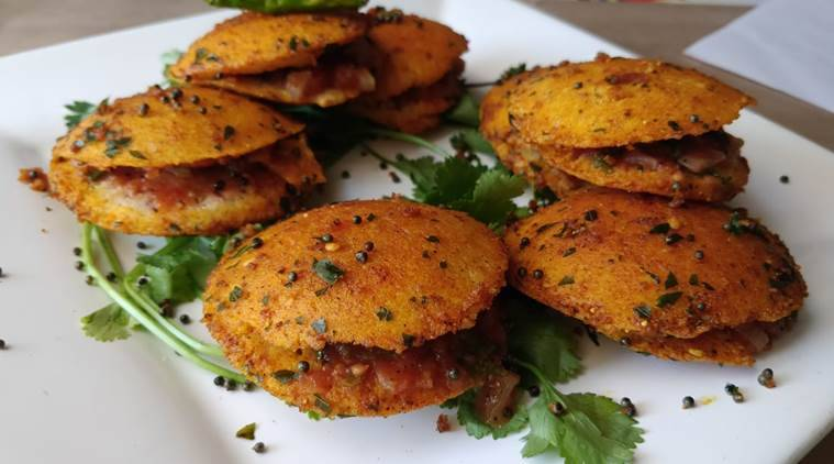 A Healthy Treat For Surprise Guests Try This Quick Little Millet Salsa Stuffed Idli Sandwiches Lifestyle News The Indian Express Get food delivery from local favorite restaurants and caterers near you. try this quick little millet salsa