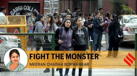 Young women, as in Gargi college, must take on those who assault them