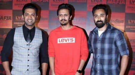 Arun Vijay, Prasanna and others attend Mafia press meet