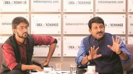 Manoj tiwari interview, manoj tiwari idea exchange, manoj tiwari bjp hate speech, manoj tiwari on delhi assembly elections, bjp cm face, indian express