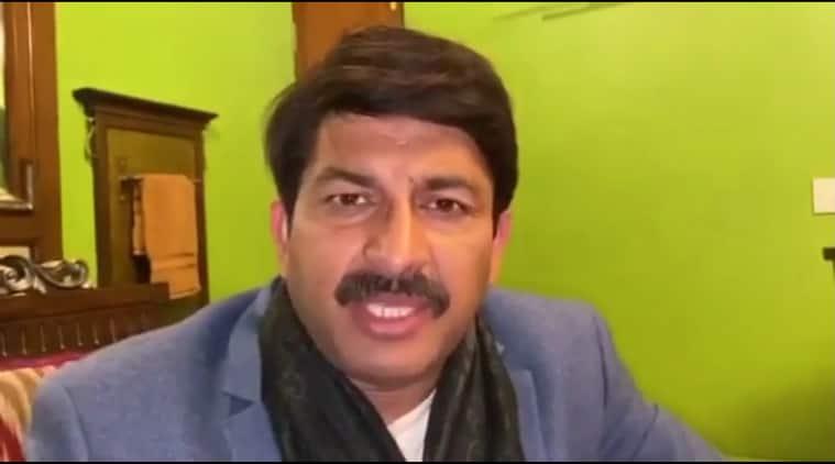 Delhi: Tiwari visits riot-hit area, writes to CM