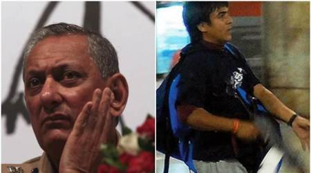 Composite image of Former Mumbai Police Commissioner Rakesh Maria (left) and Mohammed Ajmal Kasab (right).