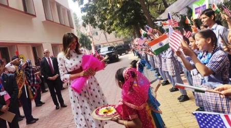 Donald Trump India Visit Day 2 Live Updates: First Lady Melania Trump attends 'Happiness Class' at Delhi school