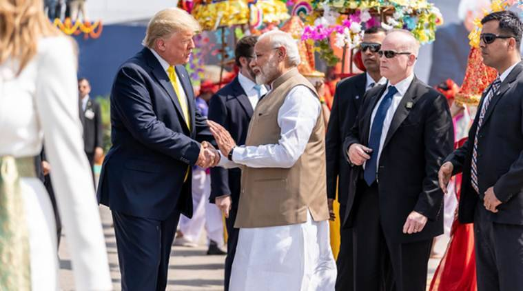 donald trump, donald trump india visit, donald trump in india, donald trump news, donald trump latest news, donald trump in delhi, narendra modi, narendra modi latest news, donald trump today news, donald trump delhi news, delhi news, donald trump speech, donald trump today news, donald trump visit to india, live news, live news updates