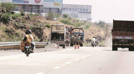 Mumbai-Pune Expressway toll, Maharashtra State Road Development Corporation, IRB Infrastructure Developers, mumbai news, pune news, indian express news
