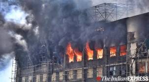 Mumbai: Fire breaks out at GST Bhavan; no casualty