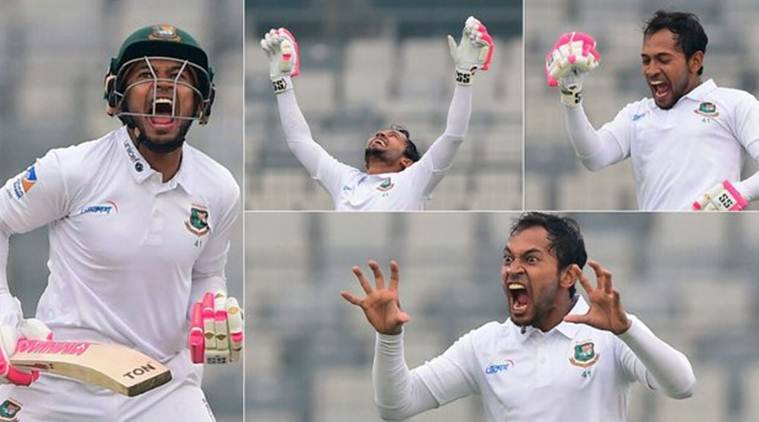 Mushfiqur Rahim, Mushfiqur Rahim dragon celebration, Mushfiqur Rahim son, Mushfiqur Rahim funny, Mushfiqur Rahim 203, Mushfiqur Rahim double century, Bangladesh vs Zimbabwe only Test, BAN vs ZIM, Zimbabwe tour of Bangladesh 2020
