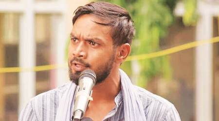 Naveen Chourey, Kohra Ghana Hai, protest poetry, anti CAA protest, NRC protest, indian express news