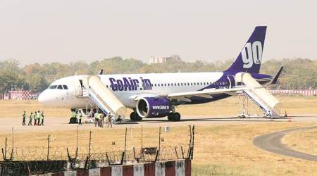 coronavirus flights, flights during covid, goair, goair middle seat booking