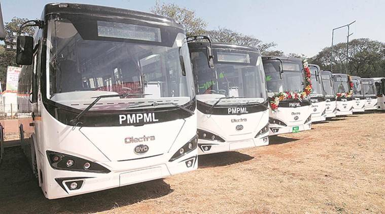 Pune electric buses, Maharashtra State Road Transport Corporation, pune news, maharashtra bews, indian express news