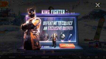 PUBG Mobile King Fighter event, PUBG Mobile, PUBG Mobile Black Cat outfit, How to get Black Cat outfit in PUBG Mobile