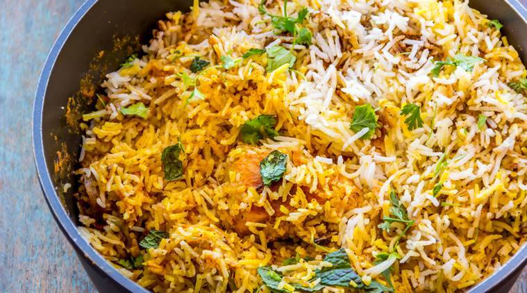 Moradabadi biryani, Food, Eateries, Pulao, Spices, Pushcarts, aluminum handis, Eye 2020, Sunday Eye, Indian Express, Indian Express news