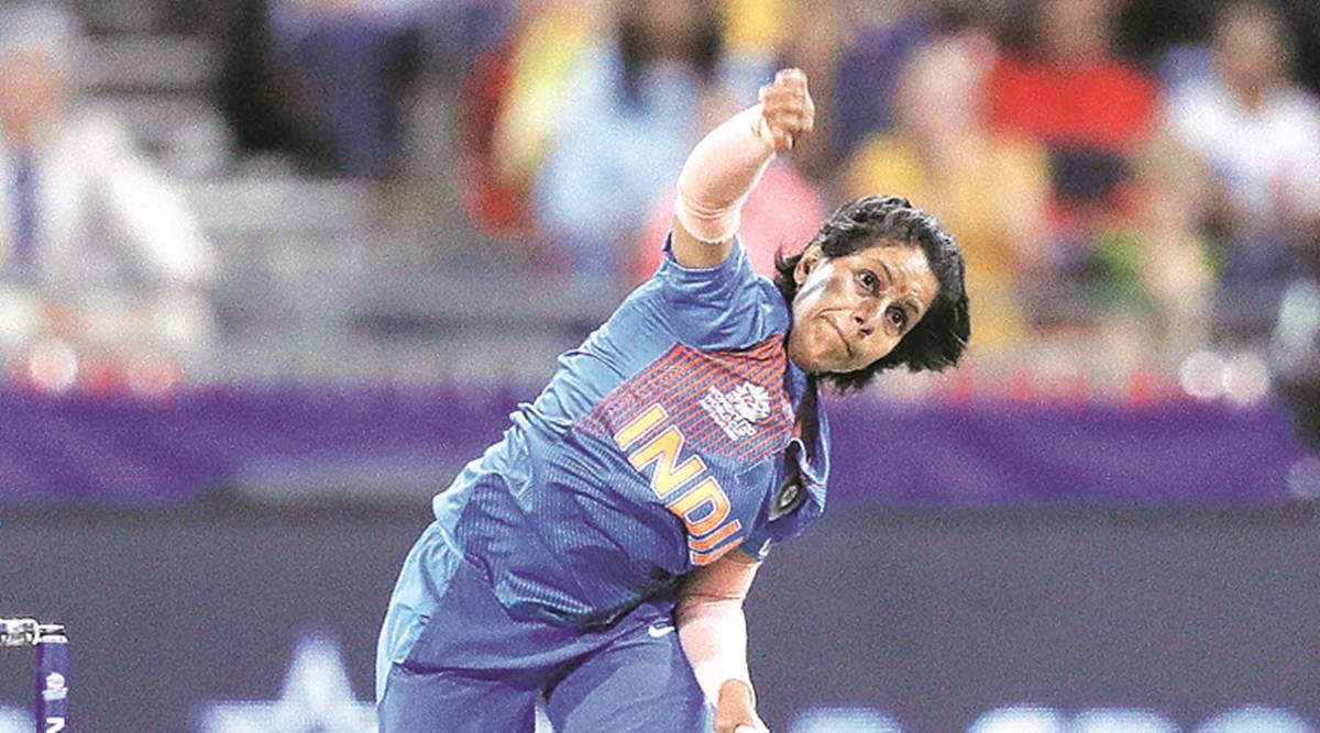 ICC women's T20 world cup, Poonam Yadav, India vs Australia, sports news, indian express news