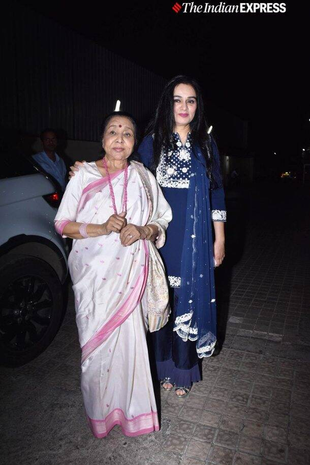 padmini kohlapure with asha bhonsle