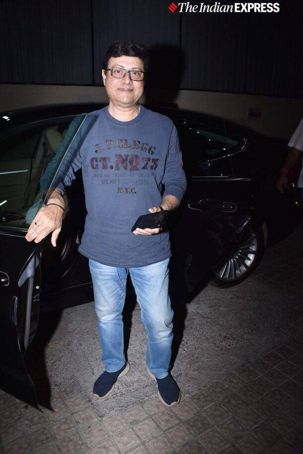 sachin pilgaonkar at Prawaas screening