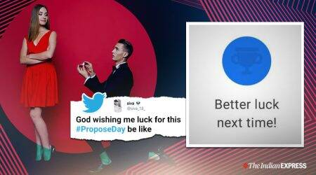 propose day, happy propose day, propose day 2020, propose day messages, propose day wishes, propose day memes, propose day for singles, singles propose day memes, funny news, twitter trends, indian express, valentines week,