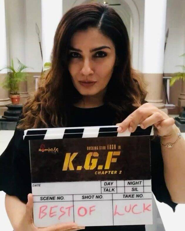 Raveen Tandon in KGF 2