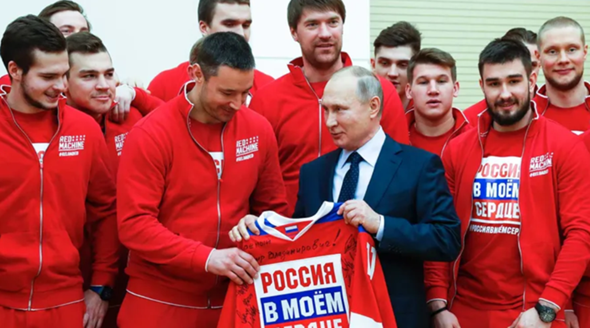 Russia banned from using its name, flag at next two Olympics - The Indian Express