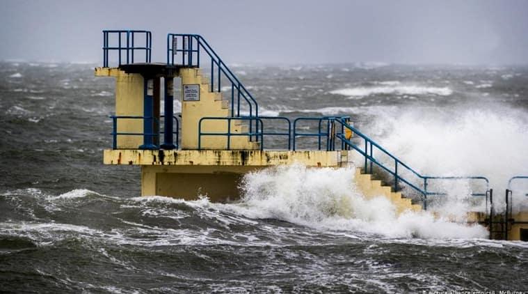 storm Sabine Germany, Germany storm Sabine news, Germany weather updates, Germany flights storm sabine, Storm Ciara Britain, indian express news
