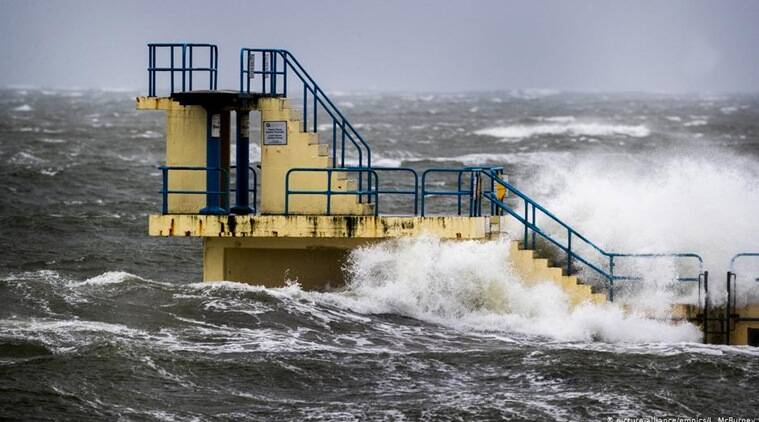 Germany storm Sabine, Sabine storm Germany, Frankfurt airport flights cancelled, storm sabine news,