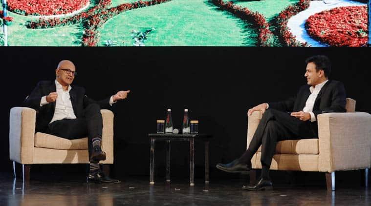 Satya Nadella, Satya Nadella India visit, Nadella in India, Nadella Young innovators summit, Satya Nadella In India