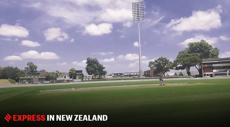 India-New Zeland T20 match, North District cricket headquarters, Seddon Park pitch, cricket news, indian express, India vs NZ tour match, India tour match, three-day tour match